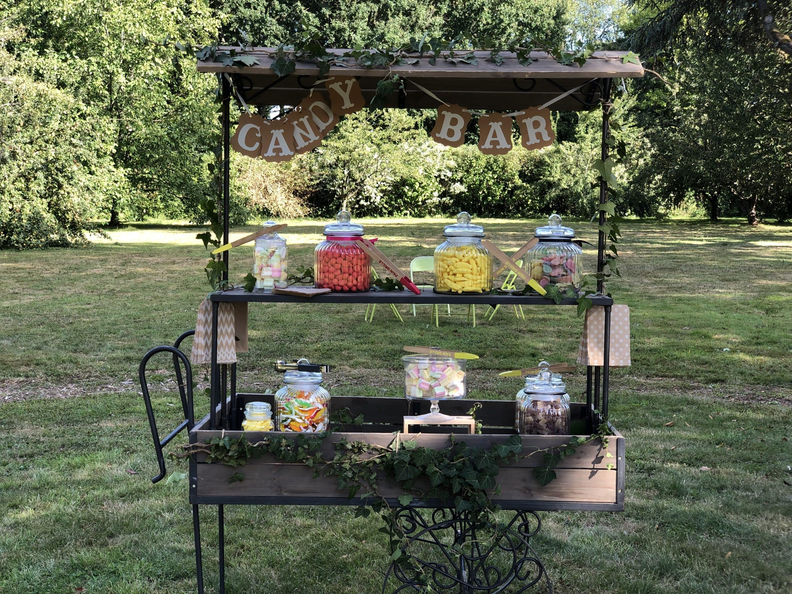 Candy Bar dans le parc